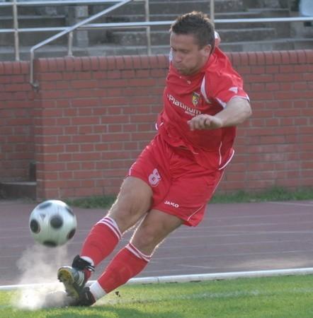 Janusz Obuchanicz z Pogoni wszedł na boisko w 60 minucie i gdy się rozegrał, w końcówce był nie do zatrzymania. Strzelił Arce dwa gole i wyrwał cenny punkt.