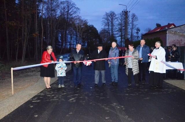 Uroczyste otwarcie nowej drogi w Klukowie