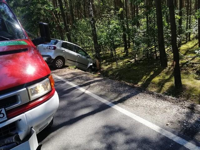 W miejscowości Witaszyn doszło do wypadku z udziałem kierującej golfem.