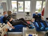 Piłkarze ręczni Łomża Vive Kielce i ich trener oddali osocze krwi (zdjęcia)