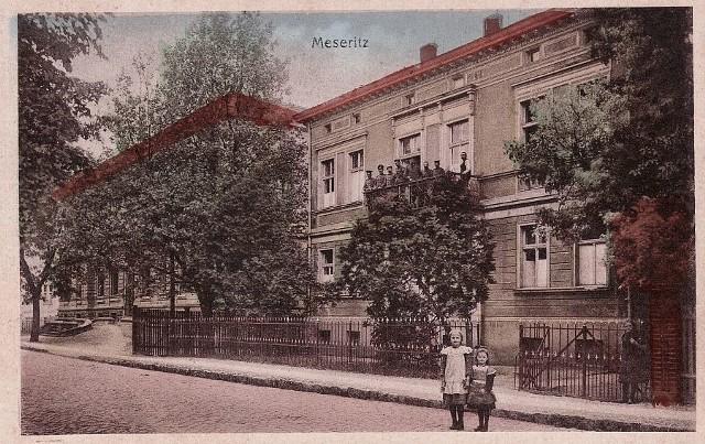 Dawne starostwo i bank powiatowy w Międzyrzeczu.