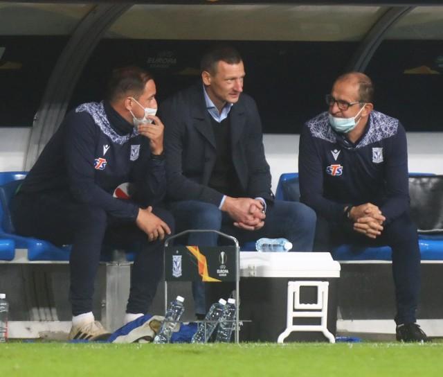 Trener Lecha Poznań Dariusz Żuraw: Jeśli chodzi o defensywę, to jesteśmy zabezpieczeni w stu procentach
