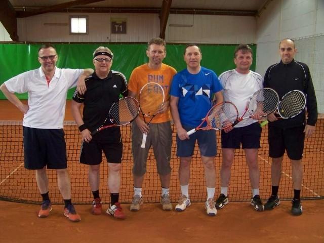 Część uczestników czwartego i zarazem ostatniego turnieju z cyklu Grand Prix Budowlanych w sezonie halowym 2014