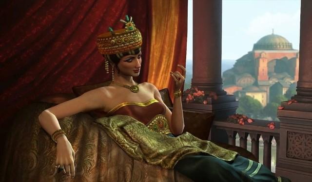 Civilization V: Bogowie i KrólowieCivilization V: Bogowie i Królowie. Jedną z nowych cywilizacji jest Bizancjum z cesarzową Teodorą