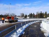 Nowy wiadukt w Murowanej Goślinie gotowy. W piątek zostanie udostępniony kierowcom, pieszym i rowerzystom. Zobacz zdjęcia