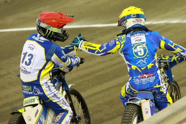 Jak wypadnie w sobotę Chris Holder (z prawej)? Czy w piątek i poniedziałek pojedzie Nicki Pedersen?