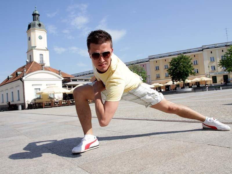 c3916a5a613b Adrian Wilczko zatańczy w sobotę na Rynku Kościuszki. Taneczną bitwę pokaże  na żywo TVN