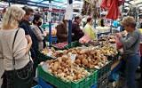 Kraków. Wysyp grzybów na krakowskich placach targowych. Sprawdziliśmy, gdzie i w jakich cenach [ZDJĘCIA]