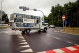 Ul. Wiosenna po remoncie: Kierowcy nagminnie łamią przepisy, a policja wystawia mandaty (zdjęcia)