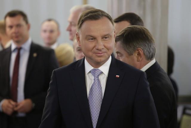Prezydent Andrzej Duda powołał w poniedziałek nowych ministrów.