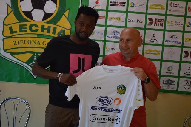 Martins Ekwueme po dwóch latach wraca do Zielonej Góry.