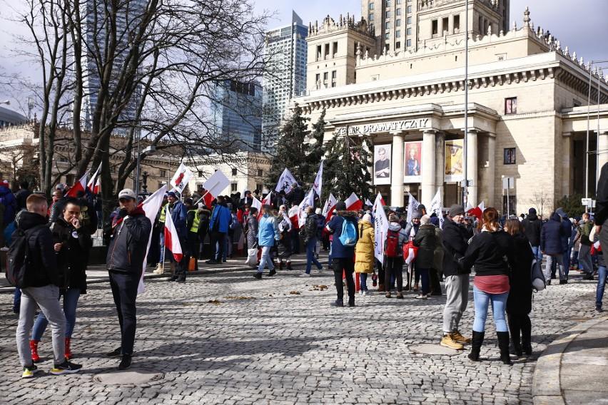 """Marsz o Wolność, Warszawa [ZDJĘCIA] """"Połączeni jesteśmy siłą"""""""