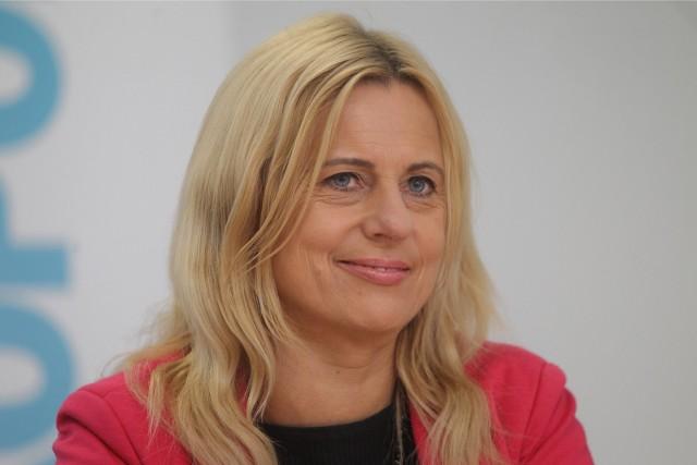 Katarzyna Kretkowska, szefowa klubu radnych Lewicy