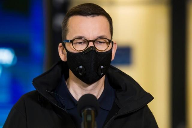 Premier Mateusz Morawiecki zaszczepiony przeciw COVID-19. Skorzystał ze szczepionki firmy AstraZeneca