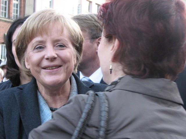 Kanclerz Niemiec Angela Merckel ostatni raz odwiedziła Frankfurt w ub. roku przed wyborami do parlamentu europejskiego. Chwaliła wtedy współpracę z Polską.