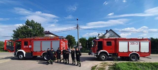 Cztery jednostki OSP z gminy Dobrzyniewo Duże otrzymają z budżetu województwa 64 tys. zł dofinansowania