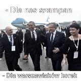 Wizyta Baracka Obamy w Polsce. Internauci uczcili jego wizytę [MEMY]