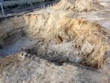 Grabówka: Niewybuch znaleziony na budowie. Ewakuowano 80 mieszkańców, saperzy podjęli bombę (zdjęcia)