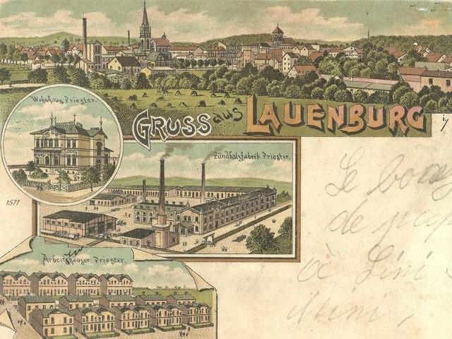 Fabryka znalazła swoje miejsce m.in. na przedwojennych widokówkach z miasta.
