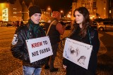 Poznańscy rowerzyści protestowali przeciwko myśliwym [ZDJĘCIA]
