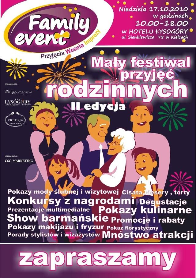 Na wszystkich uczestników imprezy czeka w Łysogórach mnóstwo atrakcji, darmowych degustacji, pokazów, itp .