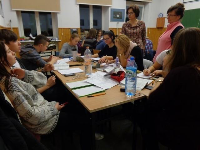 Zespół Szkół Społecznych STO przy Fabrycznej zorganizował Noc matematycznych atrakcji