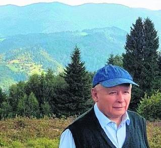 Spacer Jarosłąwa Kaczyńskiego na Przehybę