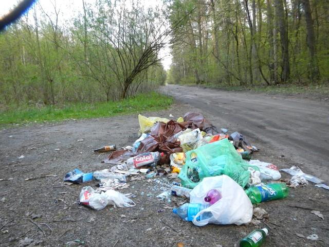 Najłatwiej jest podjechać samochodem i ot tak wyrzucić śmieci. Niektórzy silą się na wyniesienie ich głębiej w las. Na kolejnych zdjęciach zobaczysz co jeszcze ludzie wyrzucają w urokliwych z natury miejscach w lasach.
