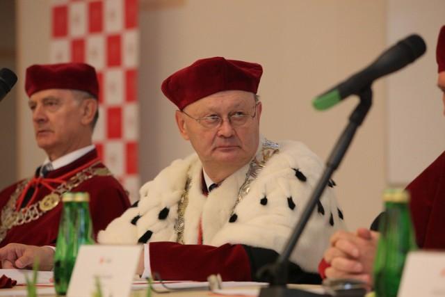 Wśród popierających kandydaturę Hanny Zdanowskiej, znalazł się m.in. prof. Włodzimierz Nykiel, rektor UŁ