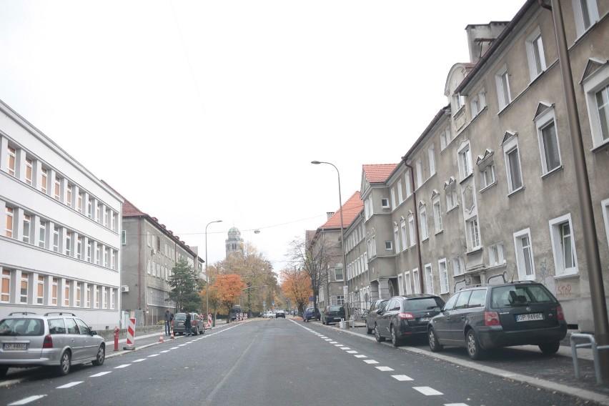 Przebudowa ulicy Kościuszki w Opolu.