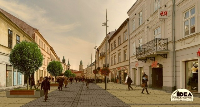 Deptak po modernizacji ma nawiązywać wyglądem do pl. Litewskiego, który będzie przebudowany