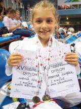 Młodziutka krakowianka Martyna Świątek odnosi sukcesy w karate tradycyjne i gimnastyce sportowej