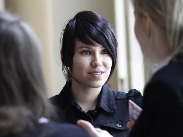 Agnieszka Kalinowska, maturzystka z III LO środę poświęciła na język polski. Do południa pisała poziom podstawowy, po południu rozszerzony.