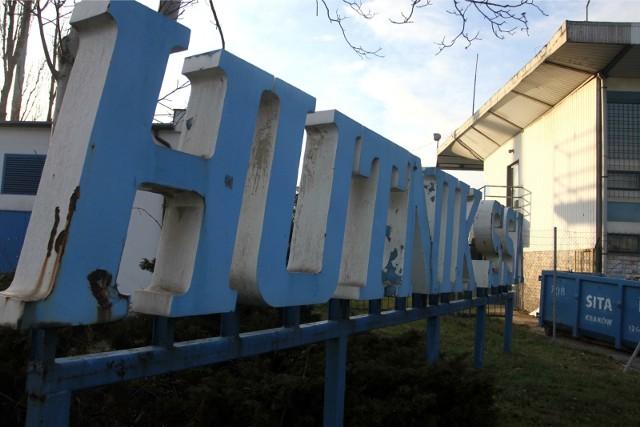 Stadion Hutnika, remont - grudzień 2011 r.