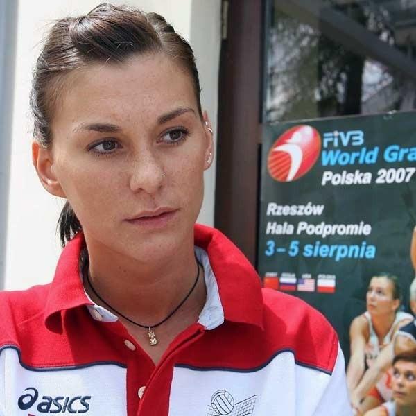 Katarzyna Skowrońska - Dolata po raz pierwszy zagra w Rzeszowie w zmienionej reprezentacji.