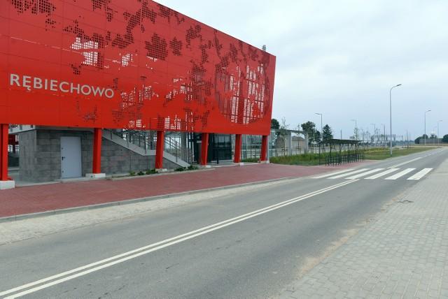 Przystanek PKM w Rębiechowie został oddany pod koniec sierpnia.