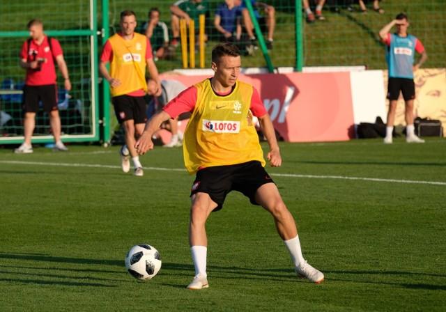 Skrzydłowy Jagiellonii Przemysław Frankowski znalazł się w kadrze reprezentacji Polski na mecze Ligi Narodów z Portugalią i Włochami