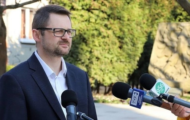 Jacek Szymankiewicz jest wiceprezydentem Gorzowa od 2014 r.