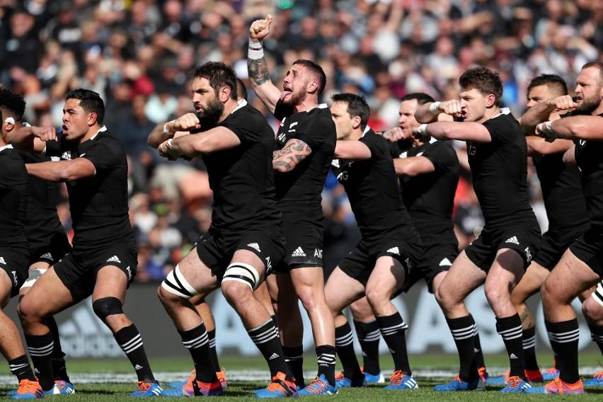 """Mecze Nowej Zelandii zawsze poprzedza słynna """"Haka"""" (wojenny..."""