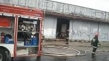 Groźny pożar supermarketu na 11 listopada  [FILM, nowe fakty, zdjęcia]
