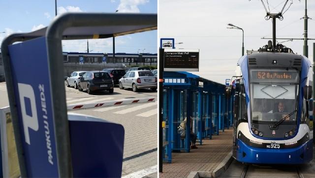 Prezydent Krakowa przygotował projekt uchwały w sprawie umożliwienia wielokrotnych przejazdów komunikacją miejską na podstawie biletów za parkowanie na obiektach typu park&ride.
