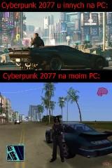 Cyberpunk 2077. MEMY na premierę są hitem internetu