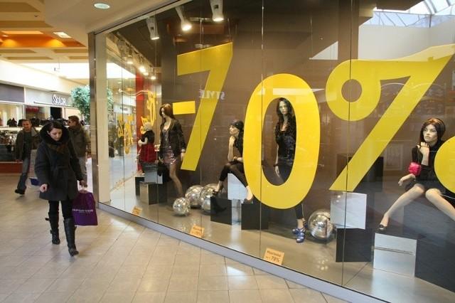 Nawet 70-procentowe obniżki cen na zimowe kolekcje proponuje teraz Reserved w Galerii Echo
