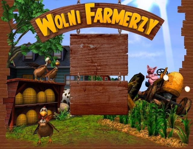 Screen z gry Wolni Farmerzy.