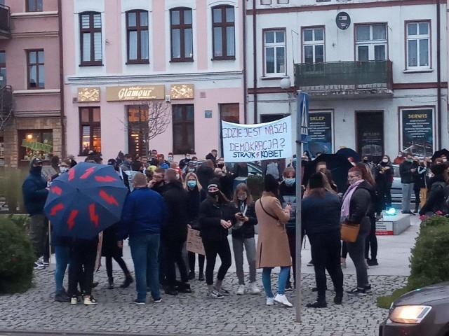 Strajk kobiet w Kowalewie Pomorskim