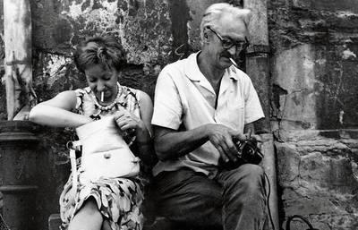"""Szymborska i Filipowicz stworzyli własny, intymny świat, w którym hasło """"Dżemajel"""" oznaczało czas na drzemkę, """"Mobutu"""" - iść do szewca Fot. Ewa Lipska/FOTONOVA"""