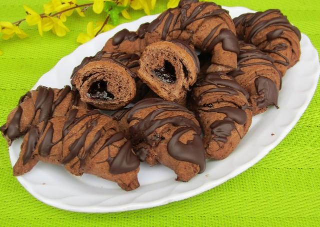 Pyszne kakaowe rogaliki. Zobaczcie przepis!