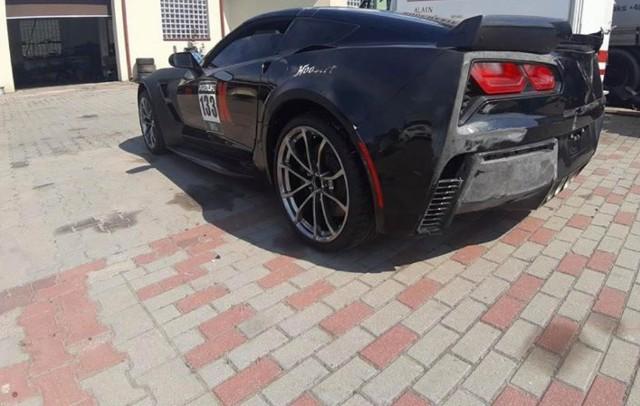 Sportowy chevrolet corvette C7 padł łupem  złodziei, którzy wyjechali nim z warsztatu samochodowego przy ul. Przyrodniczej w Zgierzu. Czytaj więcej i zobacz zdjęcia samochodu na następnej stronie