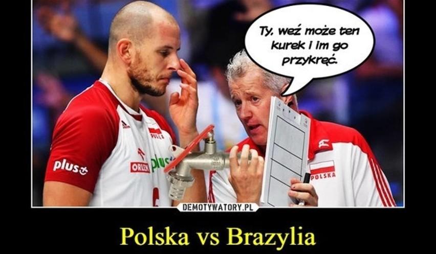 Polska - Brazylia MEMY 3:0. Polska MISTRZEM ŚWIATA. MEMY po...