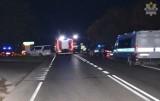"""Powiat starogardzki. Dwie osoby ranne w wyniku wypadku na """"berlince"""" [zdjęcia]"""